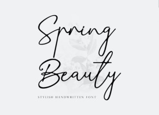 Spring Beauty Font
