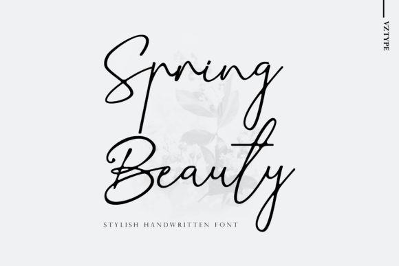 Spring Beauty Font