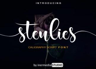 Stenlies Font
