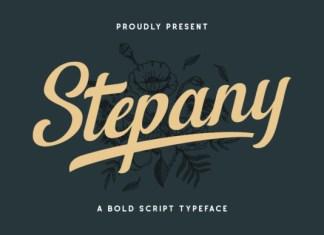 Stepany Font