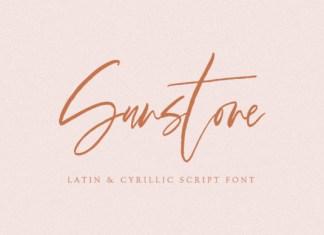 Sunstone Font
