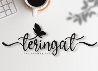 Teringat Font