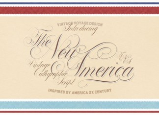The New America Font