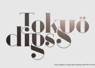 Tokyo Digs Font