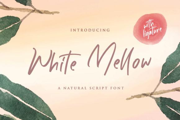 White Mellow Font