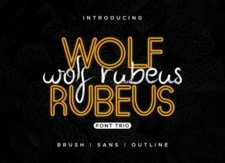 Wolf Rubeus Font