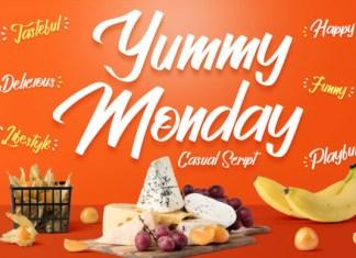 Yummy Monday Font