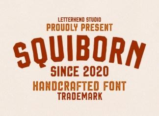 Squiborn Font