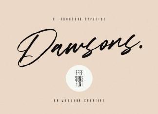 Dawsons Font
