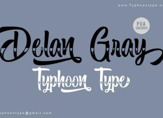Delan Gray Font