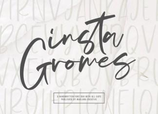 Insta Gromes Font