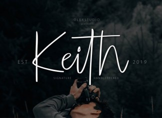 KEITH Font