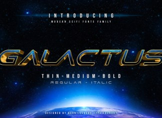 Galactus Font