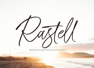 RASTELL Font