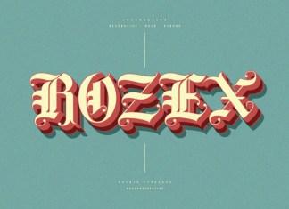 Rozex Font