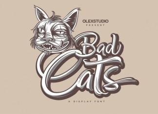 Badcats Font