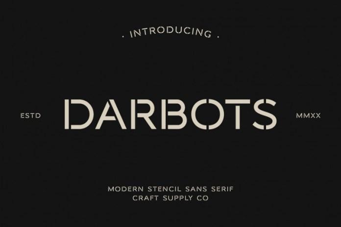 Darbots Font