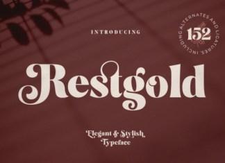 Restgold Font