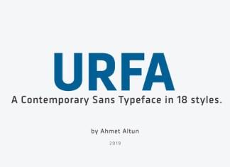 Urfa Font