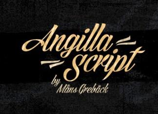Angilla Font