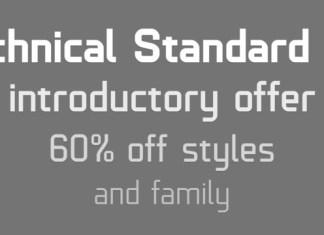 Technical Standard Font