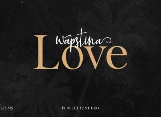 Wapstina Love Font