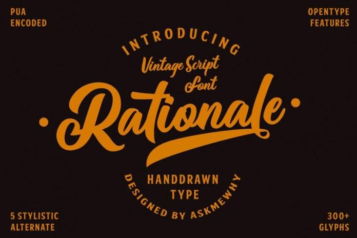Rationale Vintage Font