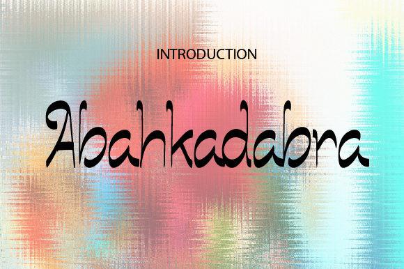 Abahkadabra Font