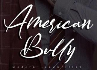 American Bully Font
