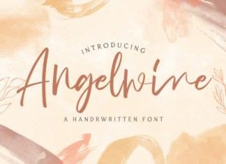 Angelwine Font