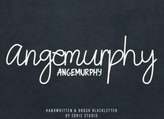 Angemurphy Font