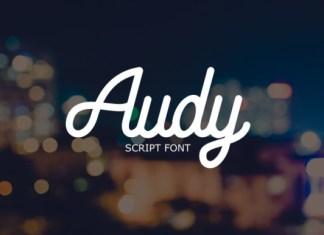Audy Font