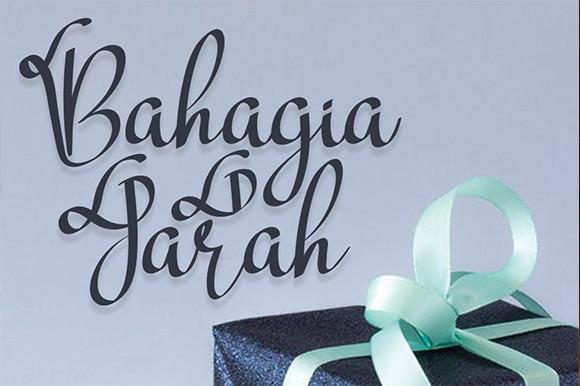 Bahagia Jarah Font