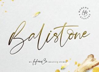 Balistone Font