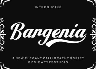 Bargenia Font