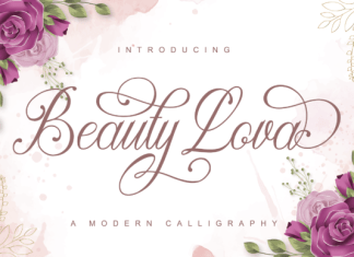 Beauty Lova Font