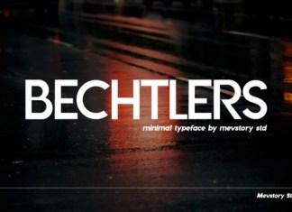 Bechtlers Font