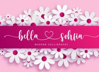 Bella Sohfia Font