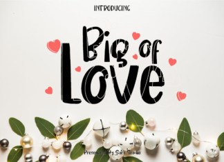 Big of Love Font