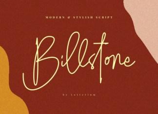 Billstone Font