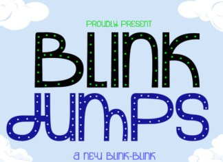 Blink Jumps Font