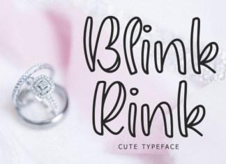 Blink Rink  Font
