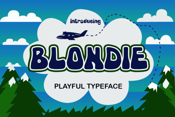 Blondie Font
