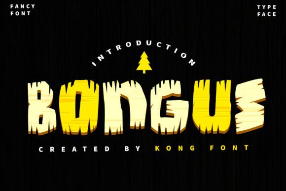 Bongus  Font