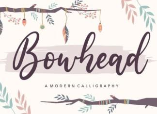 Bowhead Font