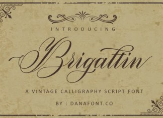 Brigattin Font