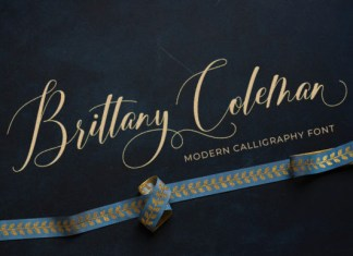 Brittany Coleman  Font