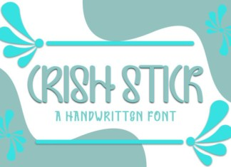 Crish Stick Font