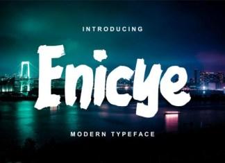 Enicye Font