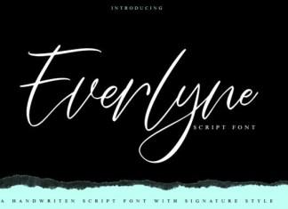 Everlyne Font